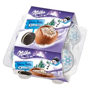Huevos chocolate oreo milka 112 gr
