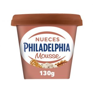 Queso mousse nueces philadelphia 130g