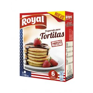 Preparado tortitas royal 120g