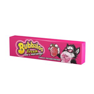 Chicle fresa bubbaloo 38gr