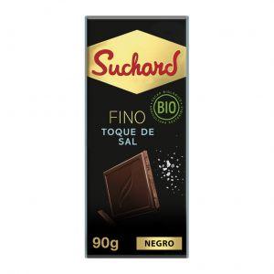Chocolate negro toque de sal suchard  90g