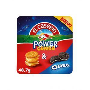 Snack queso power combo oreo el caserio 48gr