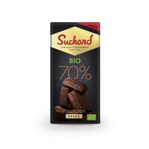 chocolate bio negro 70% suchard 150g