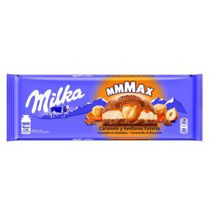 Chocolate  caramelo/avellanas milka  300g