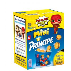 Galleta mini principe lu 160g