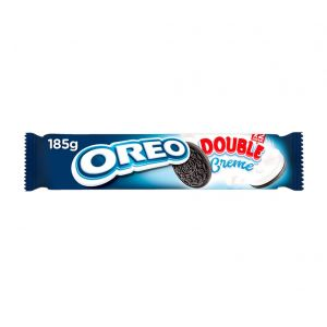 Galleta  doble crema oreo 185g