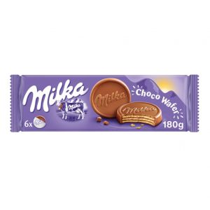 Galleta chocowafer milka 180g