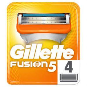 Recambio de maquinilla de afeitar para hombre fusion 4 recambios gillette