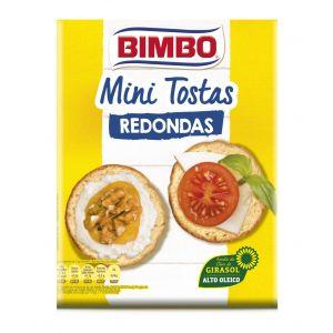 Minitostas redondas  bimbo  100g