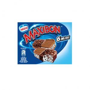 Helado maxibon mini de nata nestle p6x54,2g