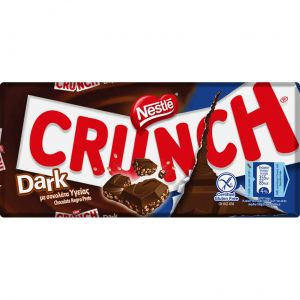 Chocolate dark crunch 100gr