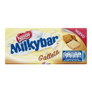Chocolate blanco galleta milkybar  100g