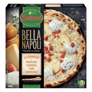 Pizza quattro formaggi bella napoli buitoni 425g