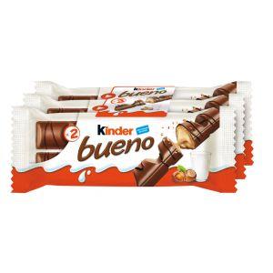 Chocolatina leche kinder bueno t2x3 129g