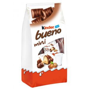 Chocolatina mini  kinder bueno 108g