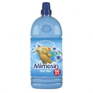 Suavizante concentrado azul mimosin 58 dosis 1,334 l