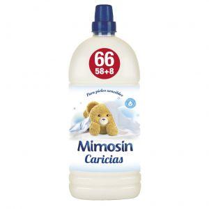 Suavizante concentrado caricias mimosin 58 dosis 1,334 l