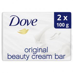 Pastilla de jabon original dove 2 x 100 g