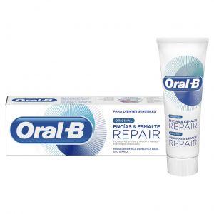 Dentífrico encias esmalte blanqueante oral b 75 ml