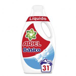 Detergente líquido básico ariel 31 dosis 2,015 litros