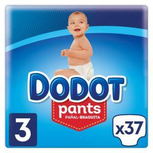 Pañal t3 6-11kg dodot pants 36 ud