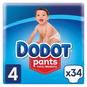 Pañal t4 9-15kg dodot pants 33 ud