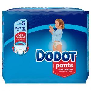 Pañal t5 12-17kg dodot pants 30 ud