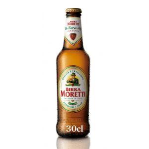 Cerveza birra moretti botella 33cl