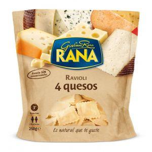 Tortellini 4 quesos rana 250g