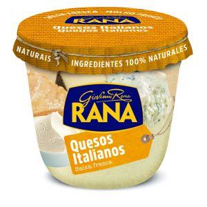 Salsa de quesos italianos para pasta rana 250g