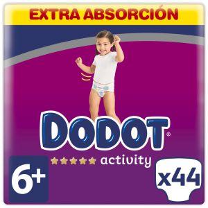 Pañal extra dodot activity t6-14kg 44und
