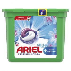 Detergente caps suavizante ariel 22ds