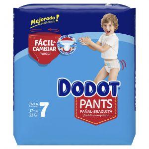 Pañal pants t7 dodot 23ud