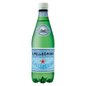 Agua mineral c/gas  s. pellegrino pet 50cl