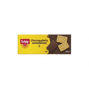Galletas sin gluten con chocolate schar 130g