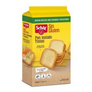 Pan tostado sin gluten schar 250g