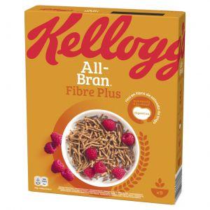 Cereales plus all bran flakes kellogg's 375g
