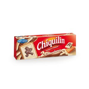 Galleta chiquilin dos chocolates chiquilin 150g