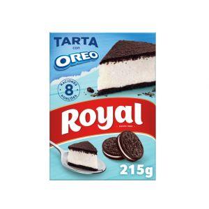 Preparado de pastel con oreo royal 215g