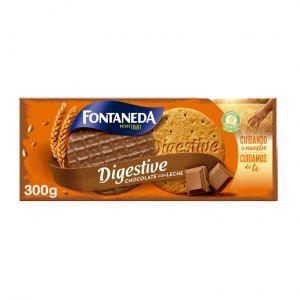 Galleta digestive choco fontaneda  300g