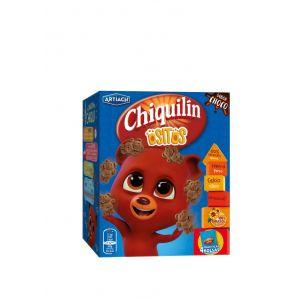 Galleta ositos chocolate chiquilin  p4x40g
