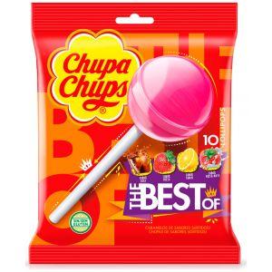 Caramelos con palo original  chupa chups 10ud