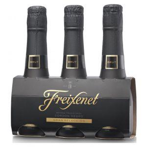 Cava cordon negro benjamin pack de 3 botellas de 20cl