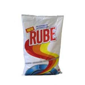 Detergente polvo mano rube 8 dosis 1 kilo