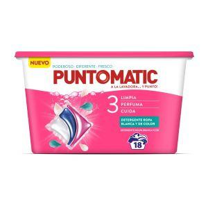 Detergente capsulas tricamara puntomatic 18ds