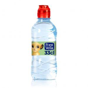 Agua mineral  font-vella  pet 33cl