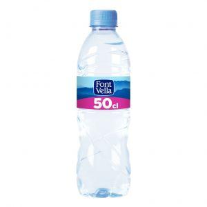 Agua mineral  font-vella  pet 50cl