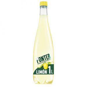 Agua mineral c/gas limon fonter pet 1l