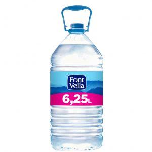 Agua mineral  font-vella  pet 6,25l