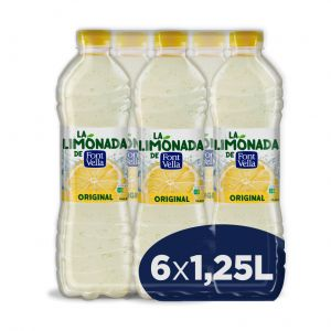 Agua refre levite limon font-vella  pet 1,25l